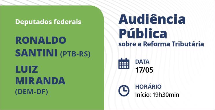 Audiência pública sobre a reforma tributária