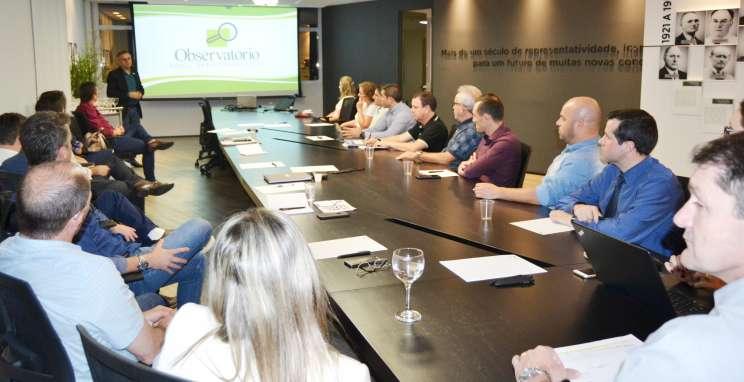 Observatório Social destaca importância do monitoramento das contas públicas em reunião no CIC-BG