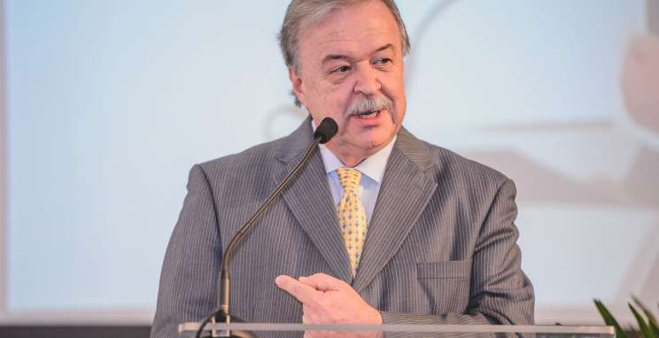 Presidente da Fiergs, Gilberto Petry