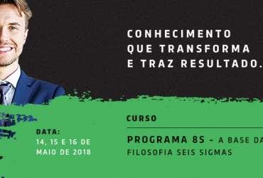 Curso Programa 8S - A Base da Filosofia Seis Sigmas